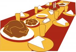 Plate clipart feast