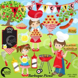 Picnic clipart bbq party