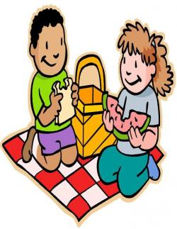 Picnic clipart childrens