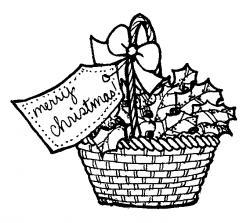 Picnic Basket clipart gift hamper