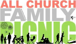 Picnic clipart church family