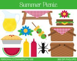 Picnic Table clipart company picnic