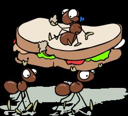 Picnic Basket clipart ant