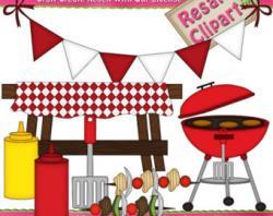 Barbecue clipart company picnic
