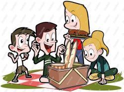Picnic clipart family picnic