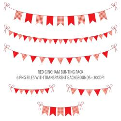 Picnic clipart flags