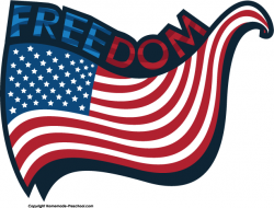 USA clipart american freedom
