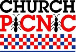 Picnic clipart free church