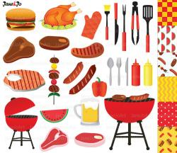 Barbecue Sauce clipart bbq pit