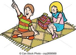 Picnic clipart illustration
