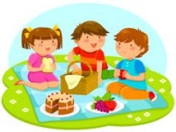 Picnic Basket clipart the park clipart