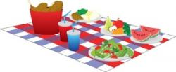 Picnic clipart picnic blanket
