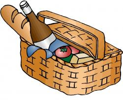 Picnic Basket clipart picnic lunch