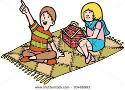 Picnic clipart picnic rug