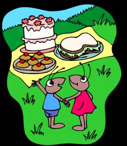 Picnic clipart picnic scene