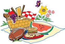 Picnic Basket clipart potluck picnic