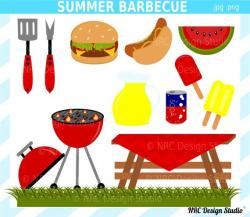 Picnic clipart summer cookout