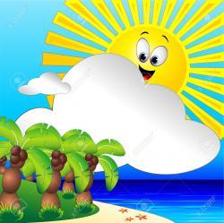 Tropics clipart sunny beach