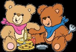 Picnic clipart teddy bear picnic