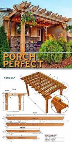 Picnic Table clipart pergola