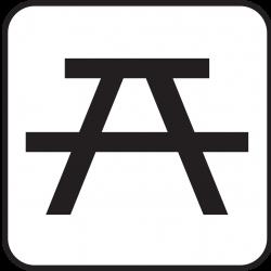 Picnic Table clipart pictogram