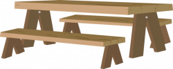 Picnic Table clipart woodwork