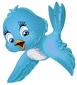 Songbird clipart blue bird