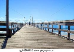 Boardwalk clipart bridge