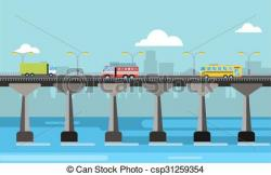 Pier clipart bridge