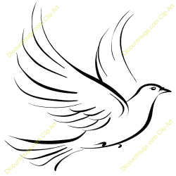 Tribal clipart pigeon