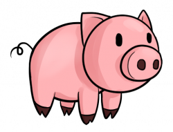 Pork clipart cartoon