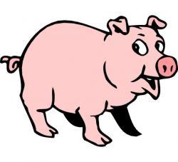 Pork clipart funny pig