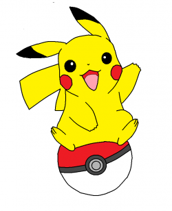 Pokeball clipart pikachu