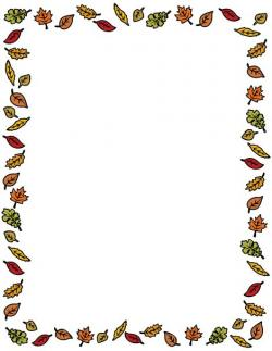 Thanksgiving clipart boarder