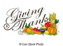 Cornucopia clipart give thanks