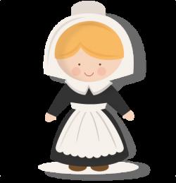 Pilgrim clipart kid