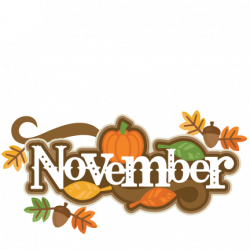 Decoration clipart november