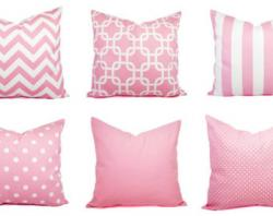 Cushion clipart pink pillow