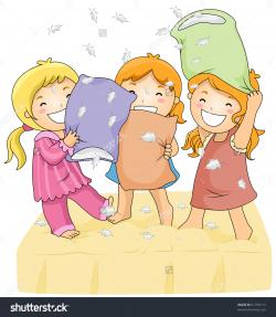 Feather clipart pillow fight