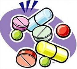 Medicinal clipart medicine pill