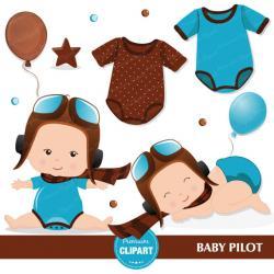 Pilot clipart baby pilot