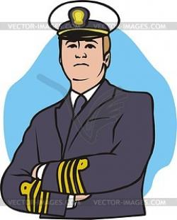 Pilot clipart captain