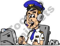 Pilot clipart cartoon