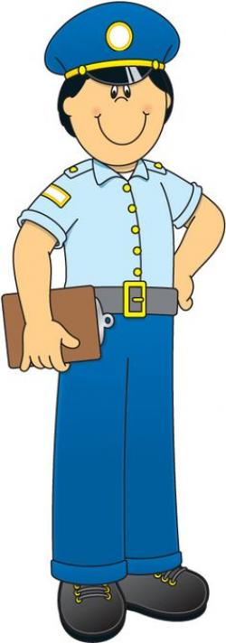 Police clipart community worker