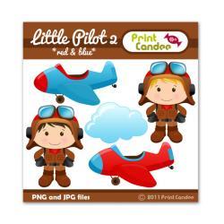 Pilot clipart cute