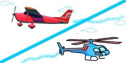 Helicopter clipart aeroplane