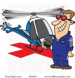 Pilot clipart helicopter pilot