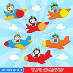 Pilot clipart little pilot