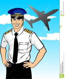 Aviation clipart pilot