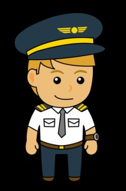Pilot clipart occupation